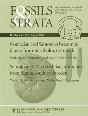Coniacian and Santonian belemnite faunas from Bornholm, Denmark / Santonian to Maastrichtian Ammonites from Scania, southern Sweden by M.G. Schulz image