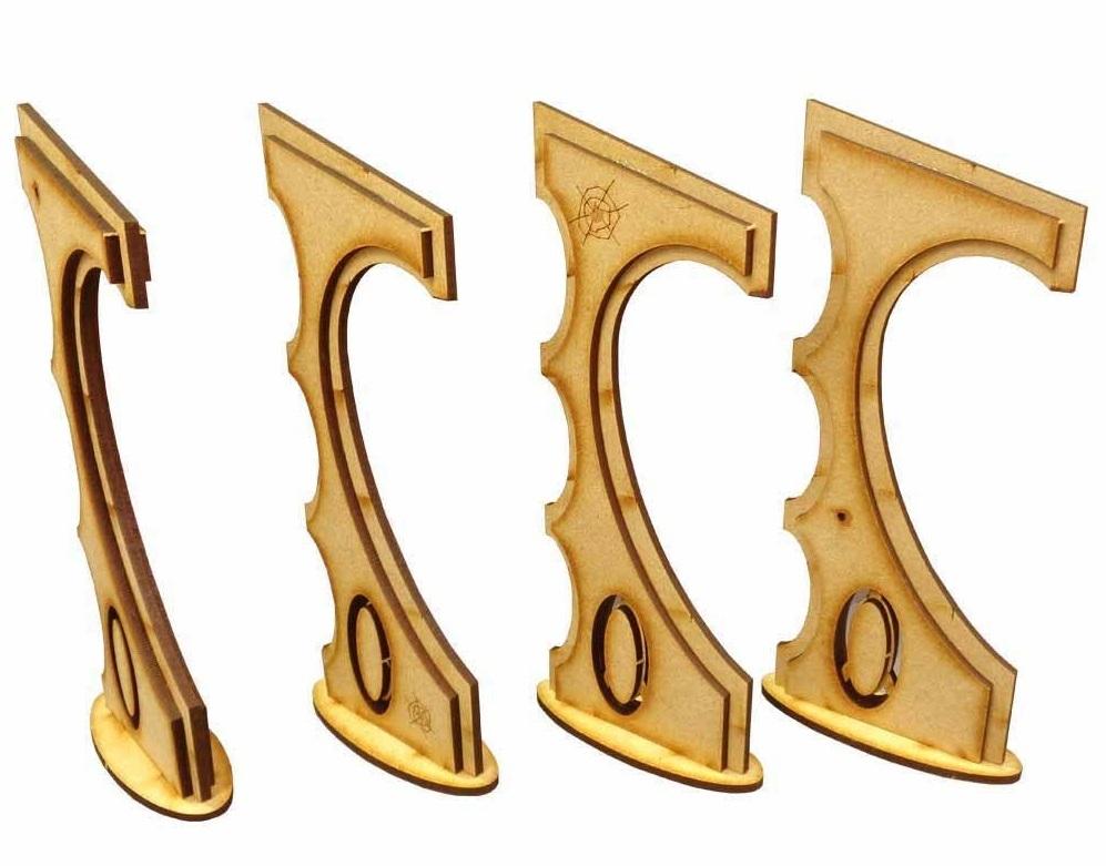 TTCombat: Tabletop Scenics - Space Elf Obelisks image