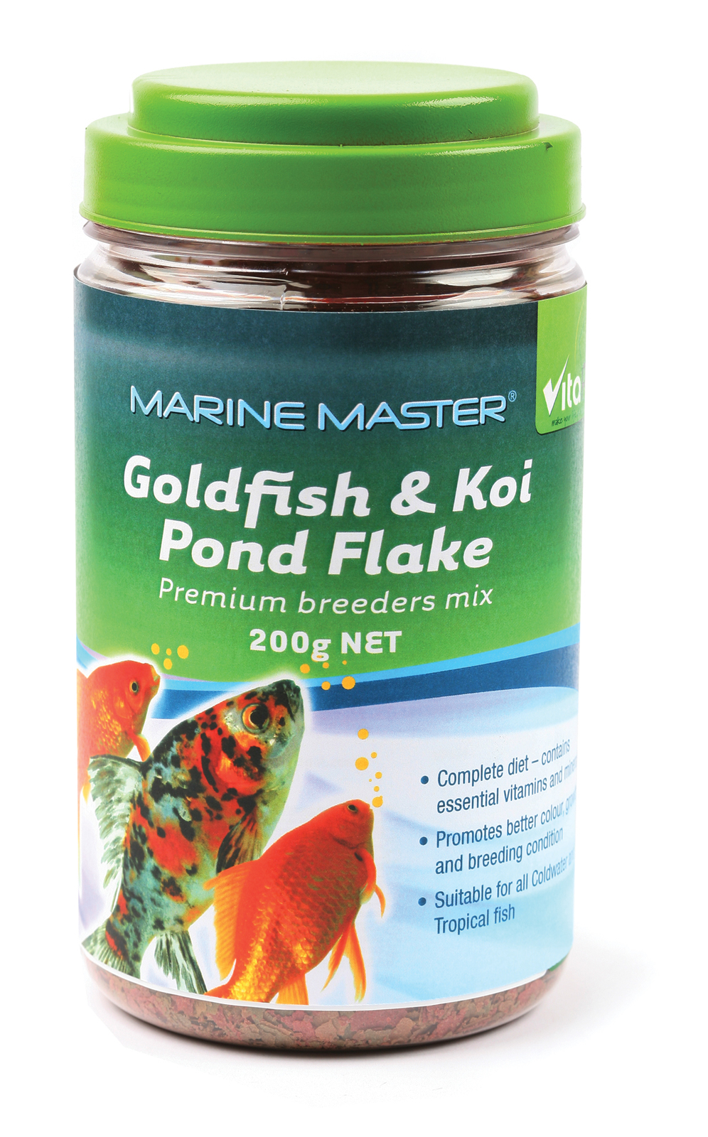 Vitapet: Goldfish Pond Food Flakes 200g image
