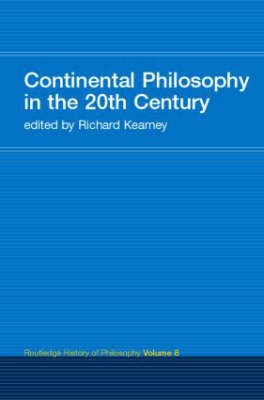 Continental Philosophy in the 20th Century image