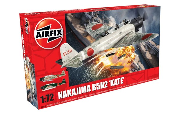 Airfix Nakajima B5N2 Kate 1:72 model kit