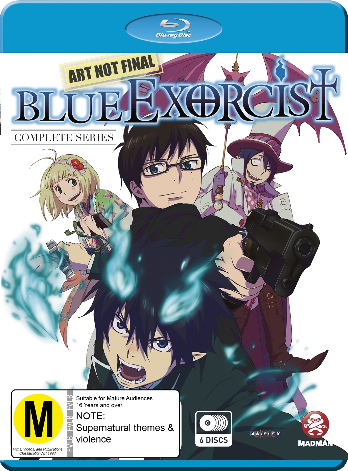Blue Exorcist - Complete Series on Blu-ray image