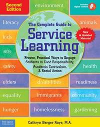 The Complete Guide to Service Learning by Cathryn Berger Kaye image