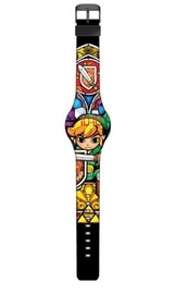 Legend of Zelda - Stained Glass Print LED Watch