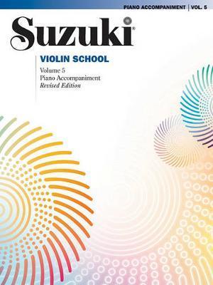 Suzuki Violin School, Vol 5 by Shinichi Suzuki