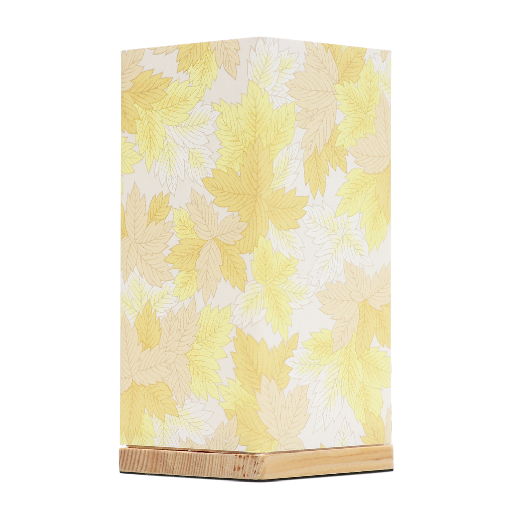 Kami Lamp Maple Leaves (Yellow) image