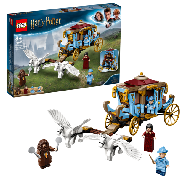 LEGO: Harry Potter - Beauxbatons' Carriage: Arrival at Hogwarts (75958)