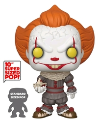 "IT: Chapter 2 - Pennywise (with Boat) - 10"" Super Sized Pop! Vinyl Figure image"