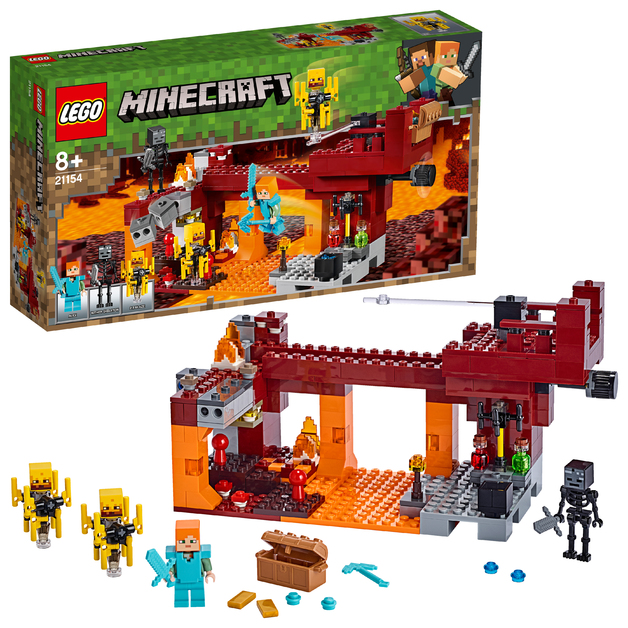 LEGO Minecraft - The Blaze Bridge (21154)
