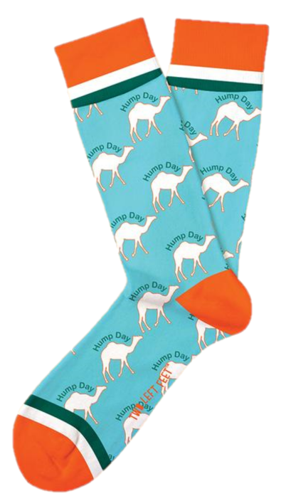 Two Left Feet: Everyday Socks - Hump Day (M/L)