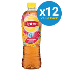 Lipton Ice Tea Raspberry 500ml (12 Pack)