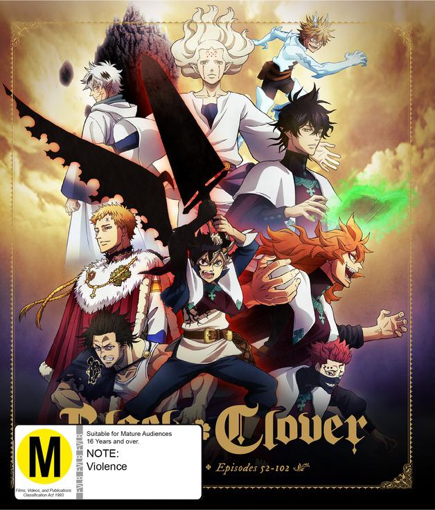 Black Clover: Complete Season 2 on Blu-ray