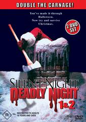 Silent Night, Deadly Night 1 & 2 (2 Disc) on DVD
