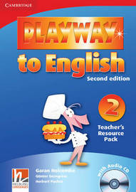 Playway to English Level 2 Teacher's Resource Pack with Audio CD: Level 2 by Gunter Gerngross