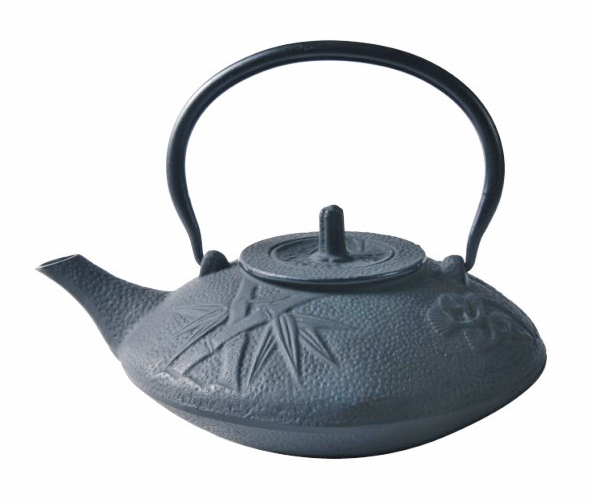 Cast Iron Teapot - Black Bamboo (1100ml)