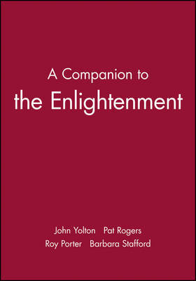 A Blackwell Companion to the Enlightenment