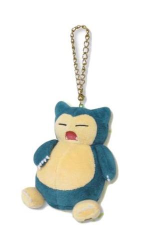 Pokemon: Plush Mascot Charm (Snorlax)