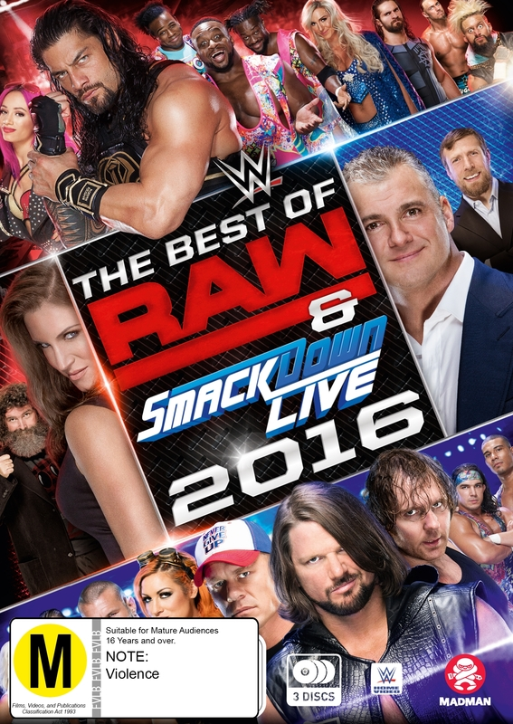 WWE - The Best Of Raw: 15th Anniversary - 1993-2008 (3 Disc Set