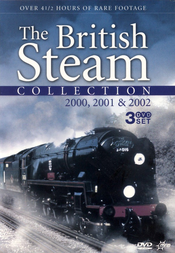 British Steam Collection, The - 2000, 2001 And 2002 (3 Disc Box Set) on DVD image