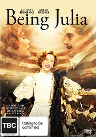 Being Julia on DVD