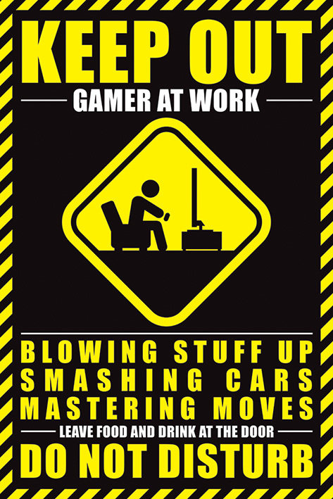 Gamer - Do Not Disturb Maxi Poster (815)