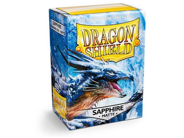 Dragon Shield Matte Sapphire Sleeves