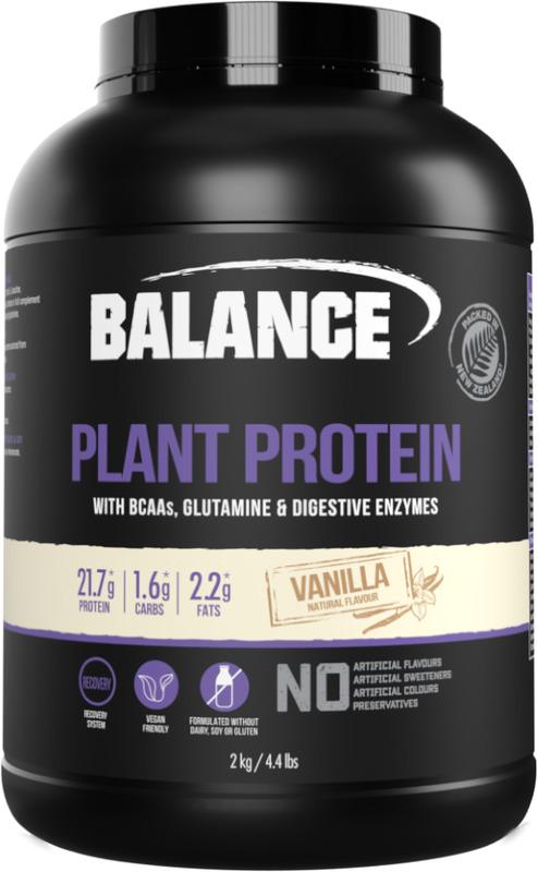 Balance Plant Protein - Vanilla (2kg)