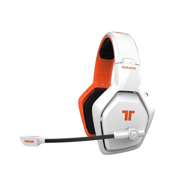 tritton katana universal 7 1 hd wireless headset white. Black Bedroom Furniture Sets. Home Design Ideas