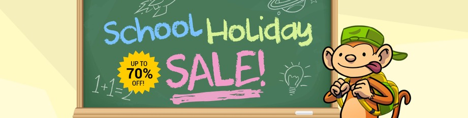 School Holiday Sale