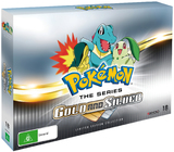 Pokemon Gold And Silver Collector's Set on DVD