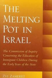The Melting Pot in Israel by Zvi Zameret image