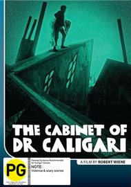The Cabinet of Dr. Caligari on DVD