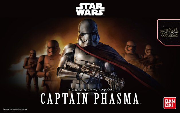 Star Wars 1/12 CAPTAIN PHASMA - Scale Model Kit