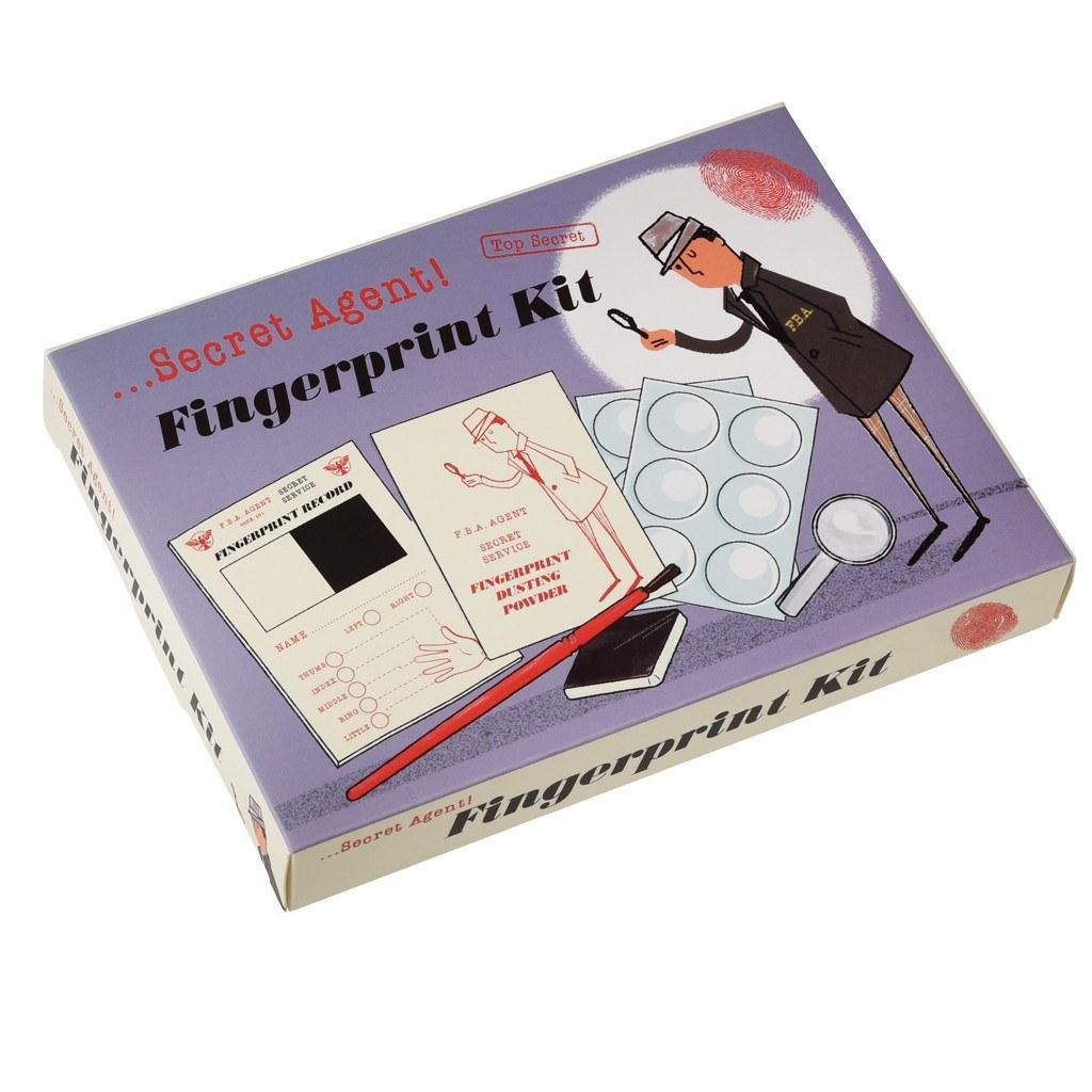 Secret Agent - Fingerprint Kit image