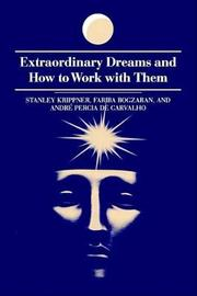 Extraordinary Dreams and How to Work with Them by Stanley Krippner image