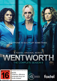 Wentworth: Season 6 on DVD