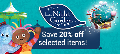 20% off In The Night Garden Toys!