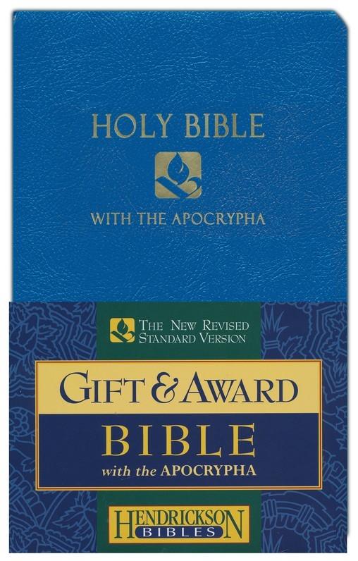 NRSV Gift & Award Bible with Apocrypha (Blue)