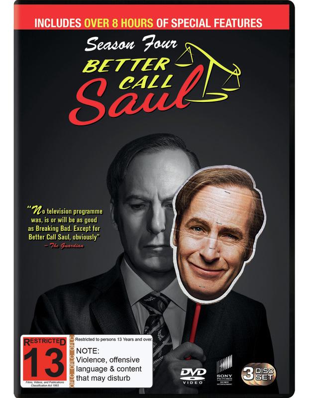 Better Call Saul: Season 4 on DVD