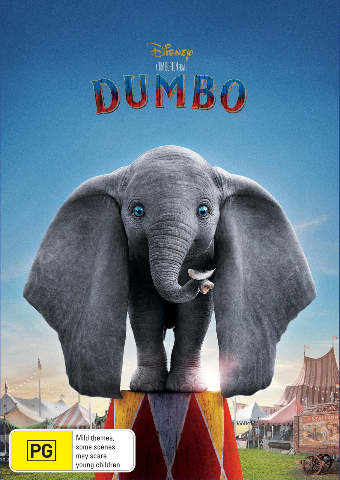 Dumbo (2019) on DVD image