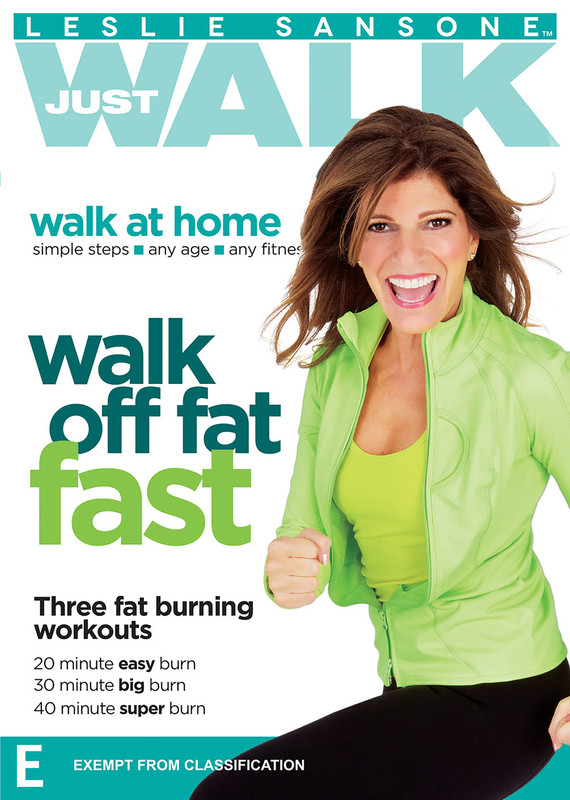 Leslie Sansone Walk Off Fat Fast on DVD