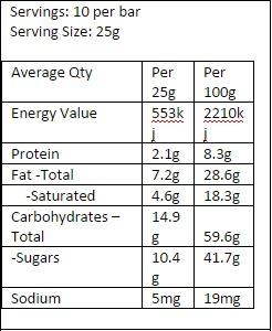 Whittakers 62% Dark Cacao Block (250g) image