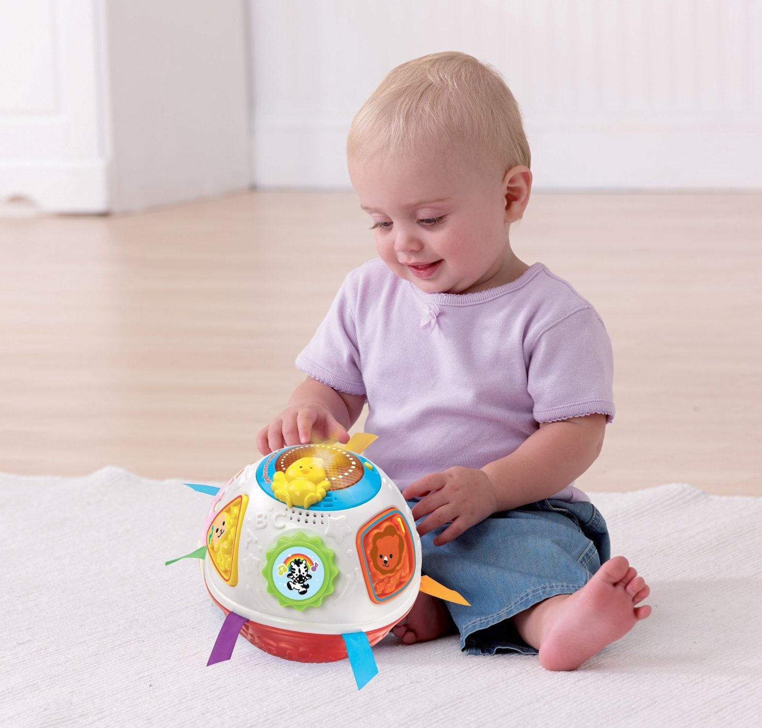 VTech: Crawl And Learn Bright Lights Ball image