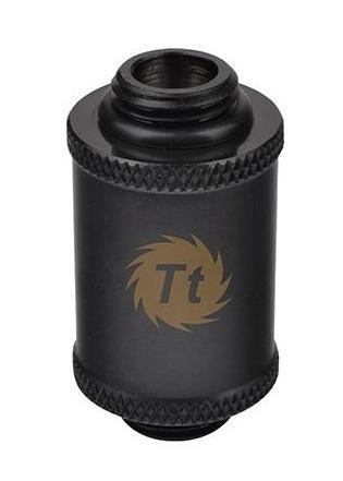 Thermaltake Pacific G1/4 Male to Male 30mm Extender – Black