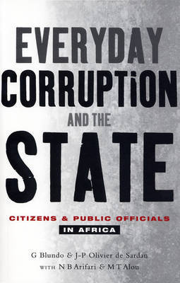 Everyday Corruption and the State by Giorgio Blundo image