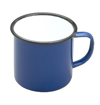 Falcon Enamelware Coffee Mug - Blue
