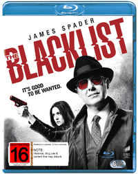 The Blacklist Season 3 on Blu-ray