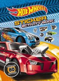 Hot Wheels Sticker Activity Book