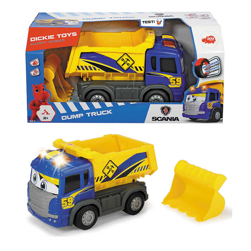 Dickie Happy Dump Truck Motorised image