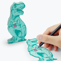 Mustard: T-Rex Sticky Notes (150 Sheets)